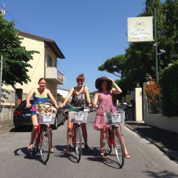 Bike in Tuscany coast