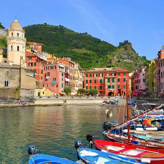 Cinque Terre Package from Versilia coast