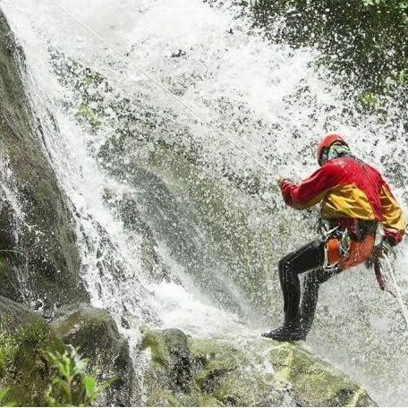 Canyoning day in Versilia